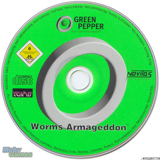 Green Pepper CD