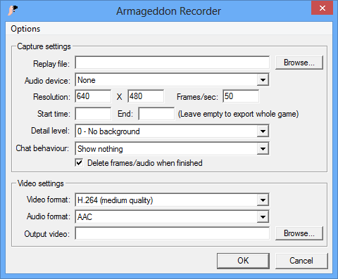 Armageddon Recorder screenshot