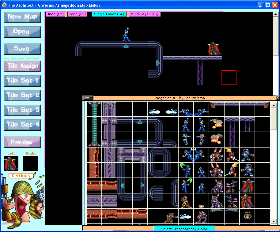 Screenshot of The Architect