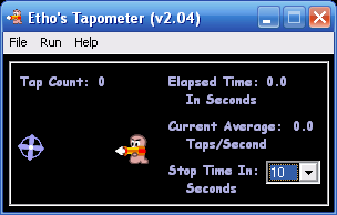 The Tapometer screenshot