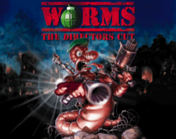 Worms The Directors Cut title screen