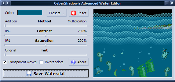 Water Color Editor screenshot